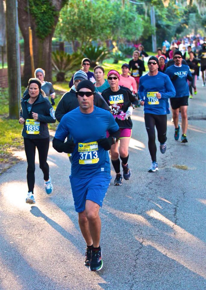 running white rock marathon training group class allen mckinney