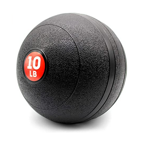 10 LB Medicine Balls Gym Equipment for Cross Training, Cardio Workouts, Strength & Conditioning Exercises